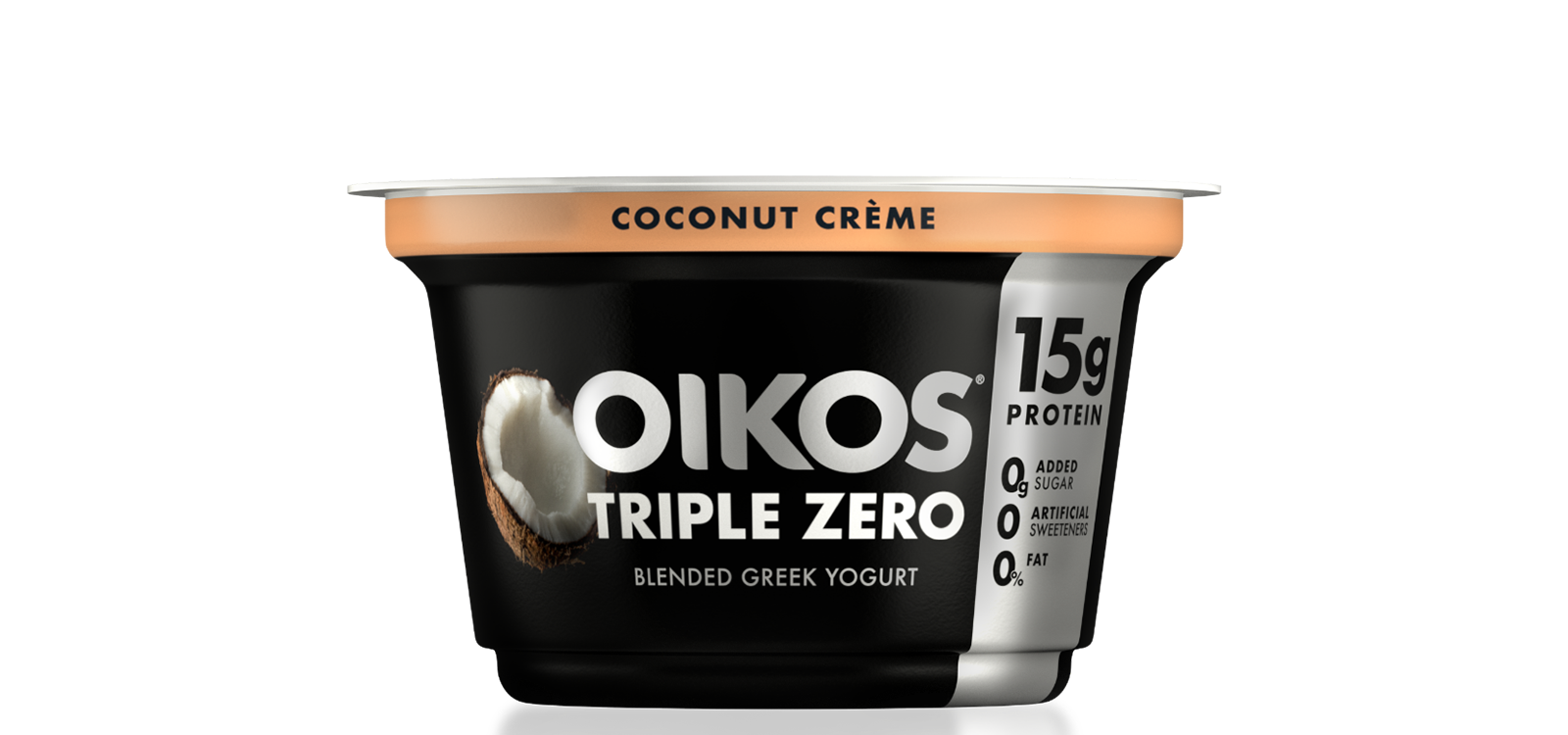 Coconut Crème Oikos Triple Zero High Protein Nonfat Greek Yogurt