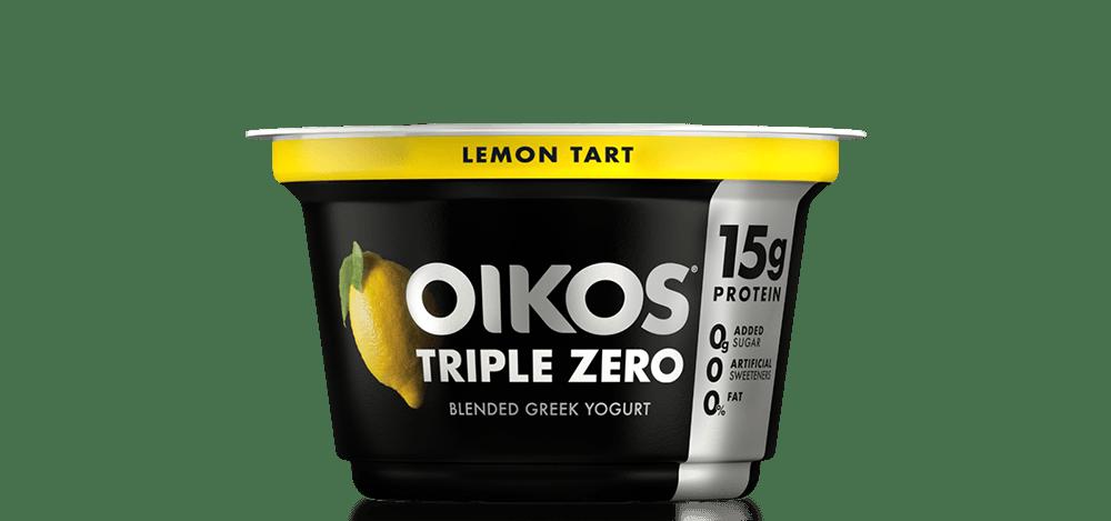 Lemon Tart Oikos Triple Zero High Protein Nonfat Greek Yogurt