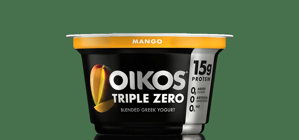 Mango Oikos Triple Zero High Protein Nonfat Greek Yogurt