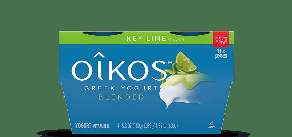 Key Lime Oikos Traditional Whole Milk Greek Yogurt Multipack