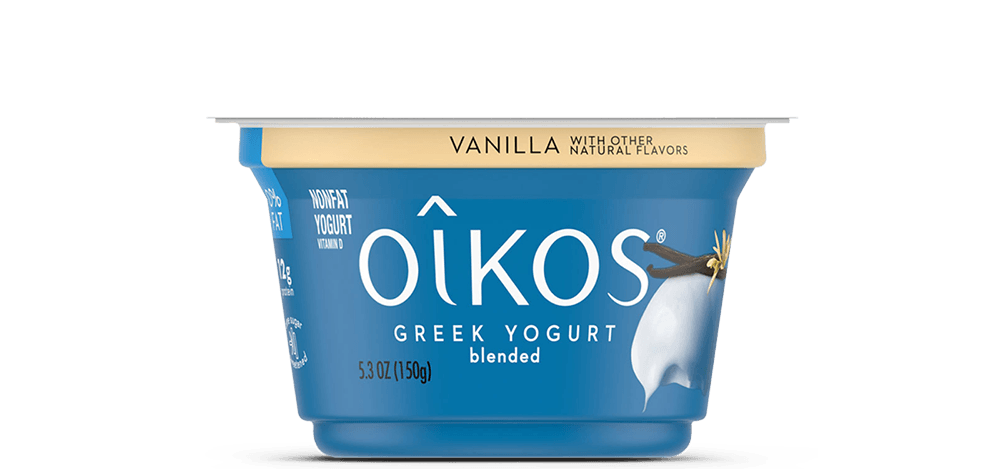 Vanilla Oikos Traditional Nonfat Greek Yogurt
